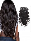 Order Wigs Online Clip In Human Hair Extensions Double Weft CPE069