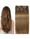 Clip In Hair Extensions Human Hair Double Drawn Human Hair Extensions CPE075