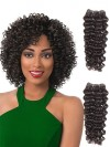 4 Bundles Jerry Curl Weave Human Hair Extensions CPW001