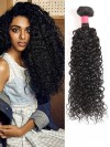 1 Bundle Virgin Curly Real Human Hair Weft Extensions CPW009