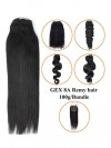 """16"""" 100g/Bundle Women Silky Straight Real Hair Weft CPW013"""