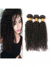 3 Bundles Kinkys Curly Real Hair Weft Extensions CPW025