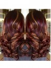Amzaing Extra Long  Body Wave Capless Synthetic Wig TW009