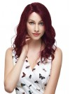 Latest Arrival Long Body Wavy Remy Human Hair Capless Wigs amaa010