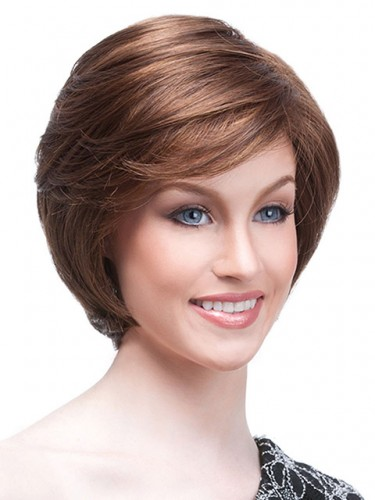 Beautiful Short Cut Remy Human Hair Straight