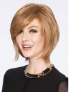 Beautiful Short Blonded Natural Straight Remy Human Hair Wigs amaa072