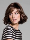 Amazing Bob Cut Wavy Ends Remy Human Hair Wigs For Women amaa078