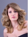 Long Boday Loose Wavy Luxury Real Hair Wigs For Women amaa086
