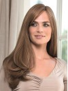 Extra Long Beautiful Straight Top Real Hair Women Wigs amaa102