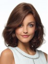 Ends Wavy Bob Cut Shoulder Length Top Sell 100% Human Hair Wigs amaa129