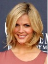 Bob Cut Wavy Ends Top Sell Human Hair Lace Wigs amaa166