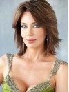 Smart Layered Straight Remy Human Hair Wig amaa1710041