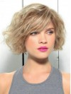 Water Wave Short Bob Remy Human Hair Wig amaa1710042