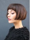 Short Straight Bob Lace Front Human Hair Wig