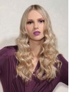 Famous Long Wavy Capless Remy Human Hair Wig