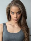 Natural Wavy Lace Front African American Remy Human Hair Wig