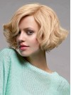 Short Wavy Charming 100% Indian Remy Human Hair Wig 10 Inches amaa186