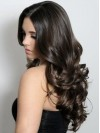 Best Luxury 22 Inches 100% Human Hair Long Body Wavy Lace Front Wig amaa188