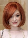 Beautiful Classical Bob Remy Human Hair Wigs amaa194