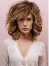 Loose Wave Bob Cut Valumn Shoulder Length Human Hair Wigs amaa219