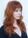 New Style Long Loose Wave Remy Human Hair Capless Wig amaa292