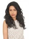 Inch Natural Color Indian Remy Hair Body Wavy Front Lace Wigs amab014