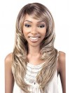 Extra Long Wavy Synthetic Wigs With Side Bangs amab043