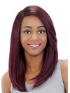 Beautiful Long Straight Synthetic Capless Wigs For Black Women amab066