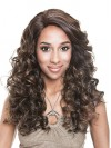 Beautiful Long Water Wavy Synthetic Capless Wigs amab075