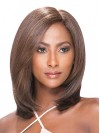 Beautiful Shoulder Length Straight Synthetic Capless Wigs amab087