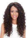Extra Long Charming Water Wavy Synthetic Lace Front Wigs amab092