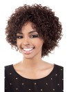 Sexy Deep Curly Bob Cut Synthetic Capless Wigs amab111