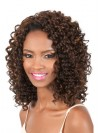 Charming Shoulder Length Kinkly Curly Synthetic Wigs amab124