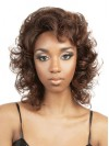 Charming Water Wavy Shoulder Length Synthetic Capless Wigs amab126