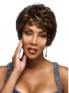 Short Cut Water Wavy Synthetic Capless Wigs amab131