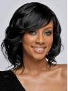 Fascinating Shoulder Length Body Wave Capless Remy Human Hair Wig amab182