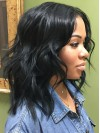 Pretty Long Loose Wave Capless Remy Human Hair Wig amab184
