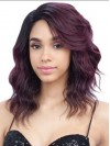 Shining Long Water Wave Capless Synthetic Wig amab218