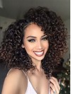 Smooth Long Yaki Curly Capless Synthetic Wig amab220