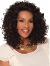 Big Volume Deep Curly Synthetic Wigs For Black Women