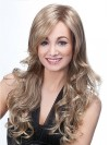 Extra Long Water Wavy Without Bangs Synthetic Wigs amac005