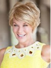 Short Natural Wavy Boycuts Capless Synthetic Wigs amac021