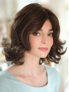 Shoulder Length Body Wavy Layered Capless Synthetic Wigs amac032
