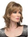 Shoulder Length Straight Layered Capless Synthetic Wigs amac035