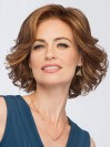 Chin Length Deep Wavy Bobs Capless Synthetic Wigs amac038