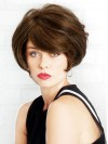 Short straight Bobs Capless Synthetic Wigs amac041