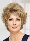 Charming Loose Water Wave Short Cut Synthetic Wigs amac076