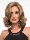 Shoulder Length Natural Wave Volumn Layered Synthetic Wigs amac080