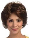 Most Popular Short Cut Natural Wave Synthetic Wigs amac082