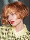 Alluring Short Straight Capless Synthetic Wig amac1711017